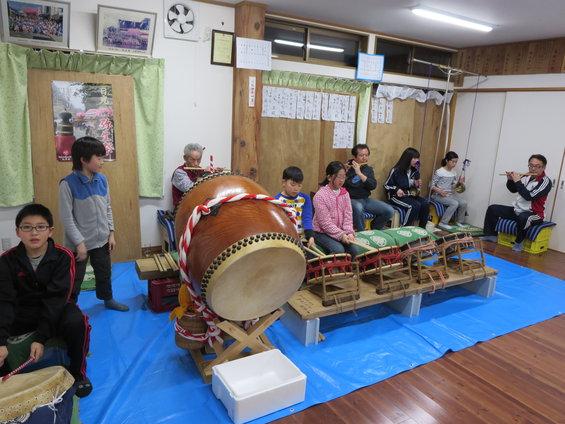 弥生祭・練習