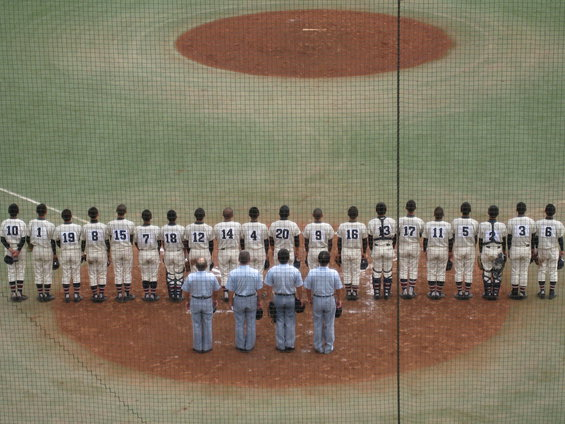 全国高校野球選手権大会「頑張れ!!高校球児!!」