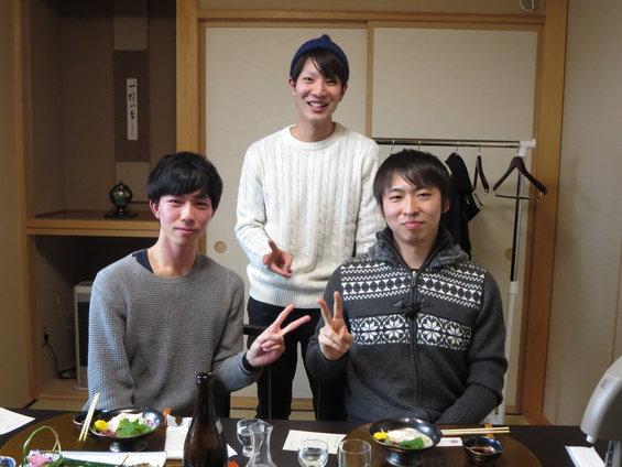 「日本の若者、がんばれ」